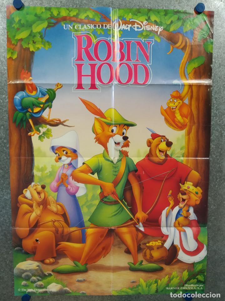 ROBIN HOOD. DISNEY. AÑO 1989. POSTER ORIGINAL (Cine - Posters y Carteles - Infantil)