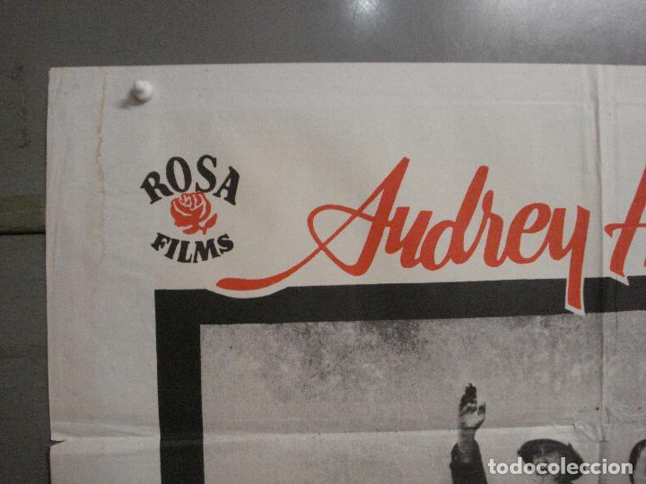 Cine: CDO 8377 HISTORIA DE UNA MONJA AUDREY HEPBURN POSTER ORIGINAL 70X100 ESPAÑOL R-72 - Foto 2 - 234738310