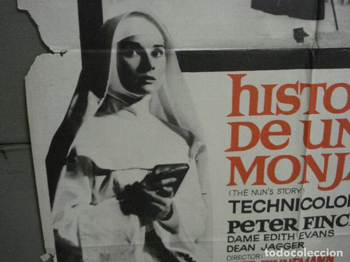 Cine: CDO 8377 HISTORIA DE UNA MONJA AUDREY HEPBURN POSTER ORIGINAL 70X100 ESPAÑOL R-72 - Foto 4 - 234738310