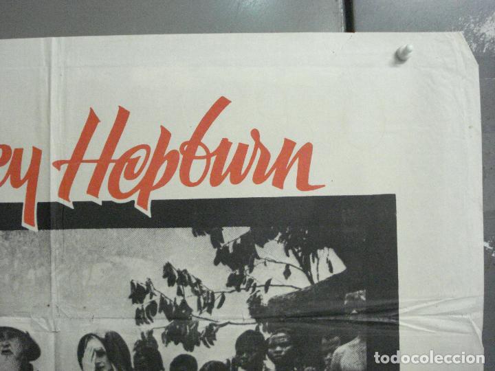 Cine: CDO 8377 HISTORIA DE UNA MONJA AUDREY HEPBURN POSTER ORIGINAL 70X100 ESPAÑOL R-72 - Foto 6 - 234738310