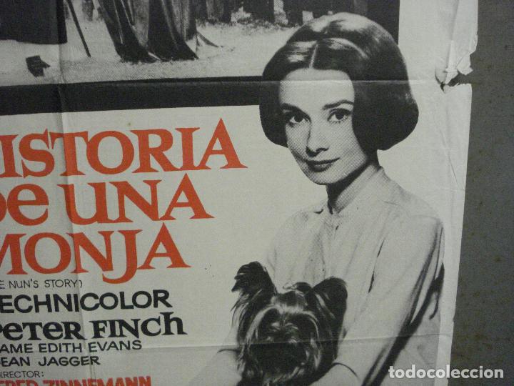 Cine: CDO 8377 HISTORIA DE UNA MONJA AUDREY HEPBURN POSTER ORIGINAL 70X100 ESPAÑOL R-72 - Foto 8 - 234738310