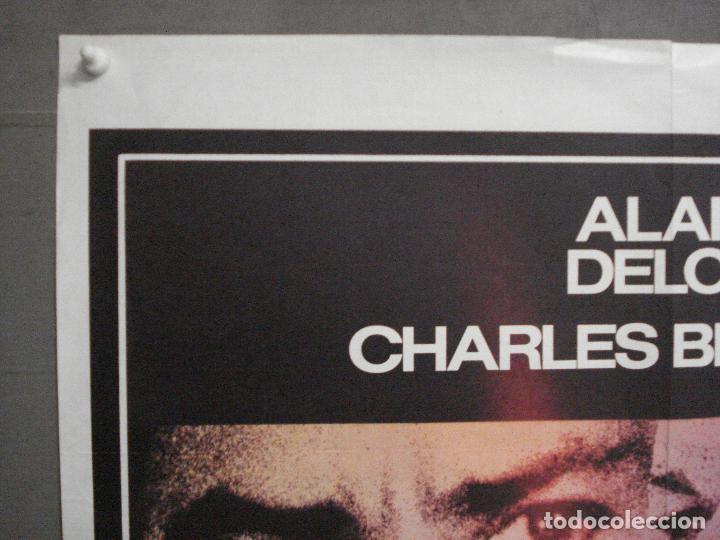 Cine: CDO 7613 ADIOS AMIGO ALAIN DELON CHARLES BRONSON POSTER ORIGINAL FRANCES 60X80 - Foto 2 - 234821830