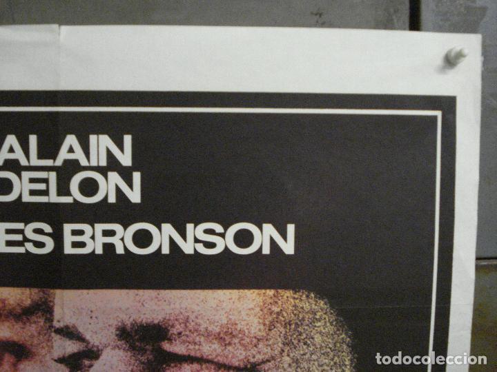Cine: CDO 7613 ADIOS AMIGO ALAIN DELON CHARLES BRONSON POSTER ORIGINAL FRANCES 60X80 - Foto 6 - 234821830
