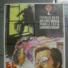 Cine: CDO 8391 EL DIA NEGRO FRANCO NERO GIALLO POSTER ORIGINAL 70X100 ESTRENO. Lote 234823335