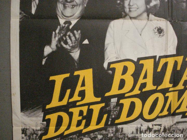 Cine: AAQ07 LA BATALLA DEL DOMINGO ALFREDO DI STEFANO FUTBOL REAL MADRID POSTER ORIGINAL 70X100 ESTRENO - Foto 3 - 234837125