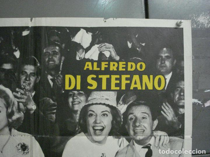 Cine: AAQ07 LA BATALLA DEL DOMINGO ALFREDO DI STEFANO FUTBOL REAL MADRID POSTER ORIGINAL 70X100 ESTRENO - Foto 6 - 234837125