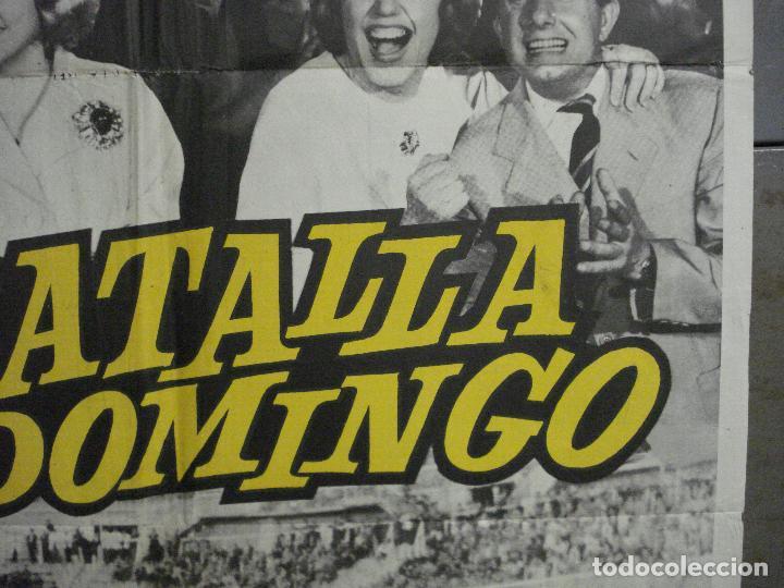 Cine: AAQ07 LA BATALLA DEL DOMINGO ALFREDO DI STEFANO FUTBOL REAL MADRID POSTER ORIGINAL 70X100 ESTRENO - Foto 7 - 234837125