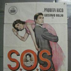 Cine: AAQ19 SOS ABUELITA PAQUITA RICO GUSTAVO ROJO CIFESA POSTER ORIGINAL ESTRENO 70X100. Lote 234852010