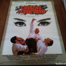 Cine: CENIZAS DEL PARAÍSO - HÉCTOR ALTERIO, LEONARDO SBARAGLIA, C. ROTH - POSTER ORIGINAL BUENAVISTA 1997. Lote 234924360