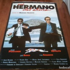 Cine: MI HERMANO DEL ALMA - JUANJO PUIGCORBÉ,CARLOS HIPÓLITO,L. BOSCH - POSTER ORIGINAL WARNER 1993 MOD 2. Lote 234967305