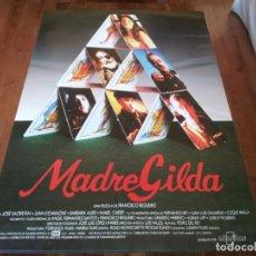 Cine: MADREGILDA - JOSÉ SACRISTÁN, JUAN ECHANOVE, COQUE MALLA - POSTER ORIGINAL ALTA AÑO 1993. Lote 234967935