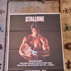 Cine: CARTEL ROCKY IV 1985 SYLVESTER STALLONE. Lote 235066860