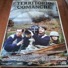 Cine: TERRITORIO COMANCHE - IMANOL ARIAS, CARMELO GÓMEZ, CECILIA DOPAZO - POSTER ORIGINAL ALTA 1996. Lote 235097815