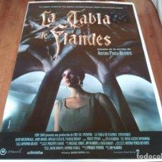 Cine: LA TABLA DE FLANDES - KATE BECKINSALE, JOHN WOOD, SINEAD CUSACK - POSTER ORIGINAL WARNER 1994. Lote 235098130