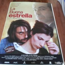 Cine: LA BUENA ESTRELLA - ANTONIO RESINES, MARIBEL VERDÚ, JORDI MOLLÀ - POSTER ORIGINAL ALTA 1997. Lote 235099090
