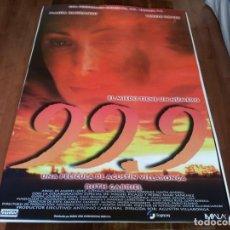 Cine: 99.9 - MARÍA BARRANCO, TERELE PÁVEZ, RUTH GABRIEL, GUSTAVO SALMERÓN - POSTER ORIGINAL SOGEPAQ 1997. Lote 235099705
