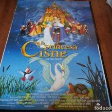 Cine: LA PRINCESA CISNE - ANIMACION - DIR. RICHARD RICH - POSTER ORIGINAL COLUMBIA 1994. Lote 235117620