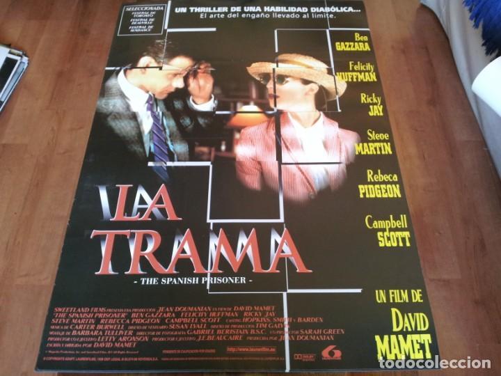 LA TRAMA THE SPANISH PRISONER - CAMPBELL SCOTT,BEN GAZZARA,DAVID MAMET - POSTER ORIGINAL LAUREN 1997 (Cine - Posters y Carteles - Suspense)