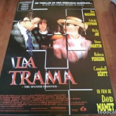 Cine: LA TRAMA THE SPANISH PRISONER - CAMPBELL SCOTT,BEN GAZZARA,DAVID MAMET - POSTER ORIGINAL LAUREN 1997. Lote 235141840