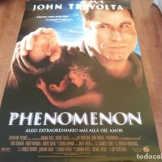 Cine: PHENOMENON - JOHN TRAVOLTA,KYRA SEDGWICK,FOREST WHITAKER,R. DUVALL - POSTER ORIGINAL BUENAVISTA 1996. Lote 235143405