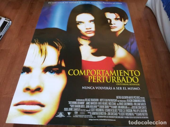 COMPORTAMIENTO PERTURBADO - JAMES MARSDEN, KATIE HOLMES, NICK STAHL - POSTER ORIGINAL COLUMBIA 1999 (Cine - Posters y Carteles - Suspense)