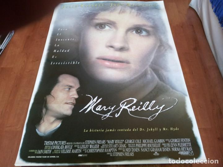 MARY REILLY - JULIA ROBERTS, JOHN MALKOVICH, GLENN CLOSE - POSTER ORIGINAL COLUMBIA AÑO 1996 (Cine - Posters y Carteles - Suspense)