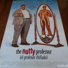 Cine: EL PROFESOR CHIFLADO - EDDIE MURPHY, JADA PINKETT SMITH, JAMES COBURN - POSTER ORIGINAL U.I.P 1996. Lote 235157555