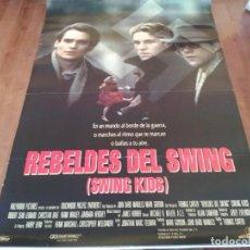 Cine: REBELDES DEL SWING - ROBERT SEAN LEONARD, CHRISTIAN BALE - POSTER ORIGINAL BUENAVISTA 1993. Lote 235158670