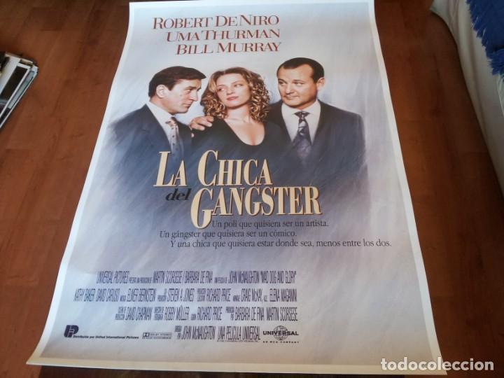 LA CHICA DEL GÁNGSTER - ROBERT DE NIRO, UMA THURMAN, BILL MURRAY - POSTER ORIGINAL U.I.P 1993 (Cine - Posters y Carteles - Comedia)