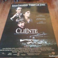 Cine: EL CLIENTE - BRAD RENFRO, SUSAN SARANDON, TOMMY LEE JONES - POSTER ORIGINAL WARNER 1994. Lote 235322310