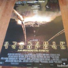 Cine: STARSHIP TROOPERS LAS BRIGADAS DEL ESPACIO - CARPER VAN DIEN, DINA MEYER - POSTER ORIGINAL 1997. Lote 271412668