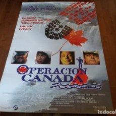 Cine: OPERACIÓN CANADÁ - ALAN ALDA, JOHN CANDY, KEVIN POLLAK, RHEA PERLMAN - POSTER ORIGINAL SOGEPAQ 1995. Lote 235328945