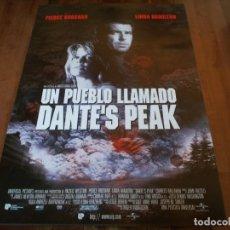 Cine: UN PUEBLO LLAMADO DANTE'S PEAK - PIERCE BROSNAN, LINDA HAMILTON - POSTER ORIGINAL U.I.P 1996. Lote 235334210