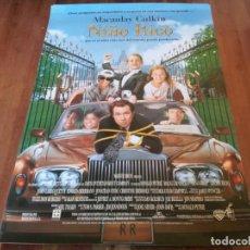Cine: NIÑO RICO - MACAULAY CULKIN, CLAUDIA SCHIFFER, JOHN LARROQUETTE - POSTER ORIGINAL WARNER 1994. Lote 235340795