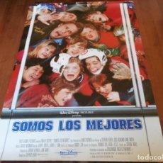 Cine: SOMOS LOS MEJORES - EMILIO ESTÉVEZ, JOSS ACKLAND, LANE SMITH - POSTER ORIGINAL DISNEY 1992. Lote 235343595