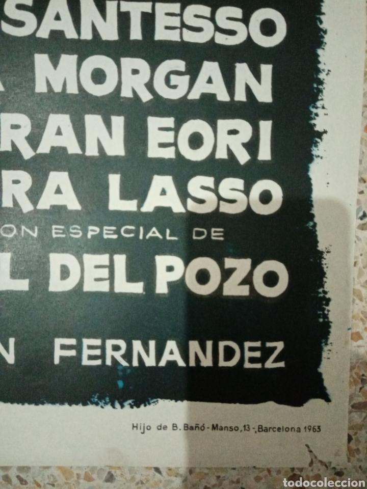Cine: Cartel cine original español objetivo las estrellas, jano, li morante, lina morgan, ramon fernandez - Foto 3 - 235370345