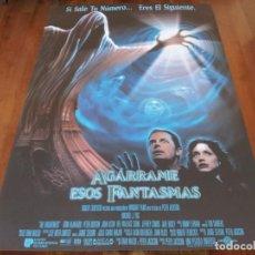 Cine: AGÁRRAME ESOS FANTASMAS - MICHAEL J. FOX,TRINI ALVARADO - PETER JACKSON - POSTER ORIGINAL U.I.P 1996. Lote 235430065