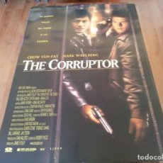 Cine: THE CORRUPTOR - CHOW YUN-FAT, MARK WAHLBERG, RIC YOUNG - POSTER ORIGINAL AURUM 1999. Lote 235434680