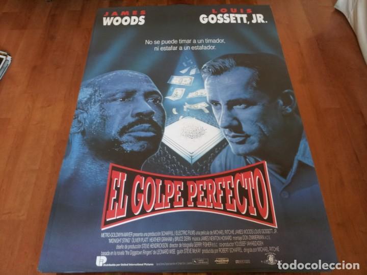 EL GOLPE PERFECTO - JAMES WOODS, LOUIS GOSSETT JR., BRUCE DERN - POSTER ORIGINAL U.I.P 1992 (Cine - Posters y Carteles - Deportes)