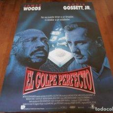 Cine: EL GOLPE PERFECTO - JAMES WOODS, LOUIS GOSSETT JR., BRUCE DERN - POSTER ORIGINAL U.I.P 1992. Lote 235452490