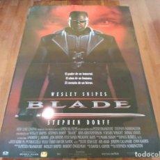 Cine: BLADE - WESLEY SNIPES, STEPHEN DORFF, KRIS KRISTOFFERSON, TRACIE LORDS - POSTER ORIGINAL AURUM 1998. Lote 235454880