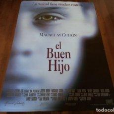 Cine: EL BUEN HIJO - MACAULAY CULKIN, ELIJAH WOOD, WENDY CREWSON, DAVID MORSE - POSTER ORIGINAL FOX 1993. Lote 235459440