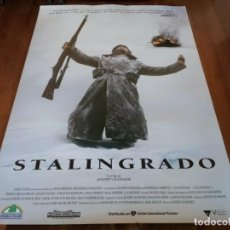 Cine: STALINGRADO - DOMINIQUE HORWITZ, THOMAS KRETSCHMANN, JOSEPH VILSMAIER - POSTER ORIGINAL U.I.P 1993. Lote 235460715