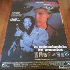 Cine: EL COLECCIONISTA DE AMANTES - MORGAN FREEMAN, ASHLEY JUDD, CARY ELWES - POSTER ORIGINAL U.I.P 1997. Lote 235534930