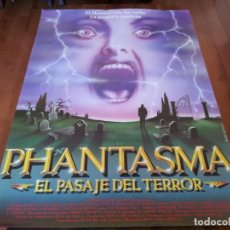 Cine: PHANTASMA EL PASAJE DEL TERROR - REGGIE BANNISTER, A. MICHAEL BALDWIN - POSTER ORIGINAL VHERO 1994. Lote 260328505