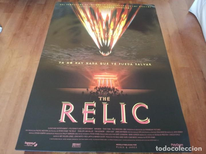 THE RELIC - PENELOPE ANN MILLER, TOM SIZEMORE, LINDA HUNT - POSTER ORIGINAL SOGEPAQ 1997 (Cine - Posters y Carteles - Terror)