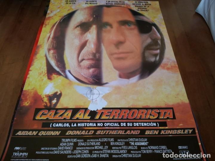 CAZA AL TERRORISTA - AIDAN QUINN, DONALD SUTHERLAND, BEN KINSLEY - POSTER ORIGINAL COLUMBIA AÑO 1997 (Cine - Posters y Carteles - Acción)