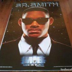 Cine: MEN IN BLACK HOMBRES DE NEGRO - WILL SMITH, SR. SMITH - POSTER ORIGINAL COLUMBIA 1997 PREVIO. Lote 235561850