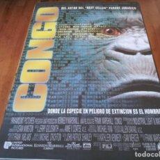 Cine: CONGO - DYLAN WALSH, LAURA LINNEY, ERNIE HUDSON,TIM CURRY - POSTER ORIGINAL U.I.P 1995. Lote 235567585
