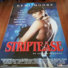 Cine: STRIPTEASE - DEMI MOORE, ARMAND ASSANTE, BURT REYNOLDS - POSTER ORIGINAL FILMAYER 1996. Lote 235571670